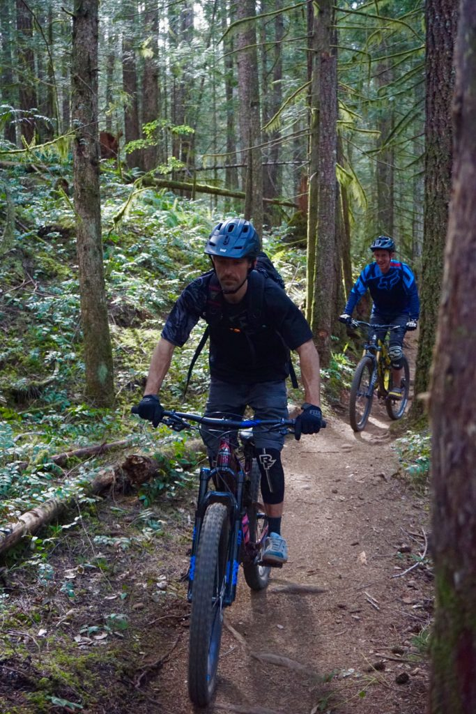 Mountain Bike Guiding with Next Level Riding in the Cowichan Valley